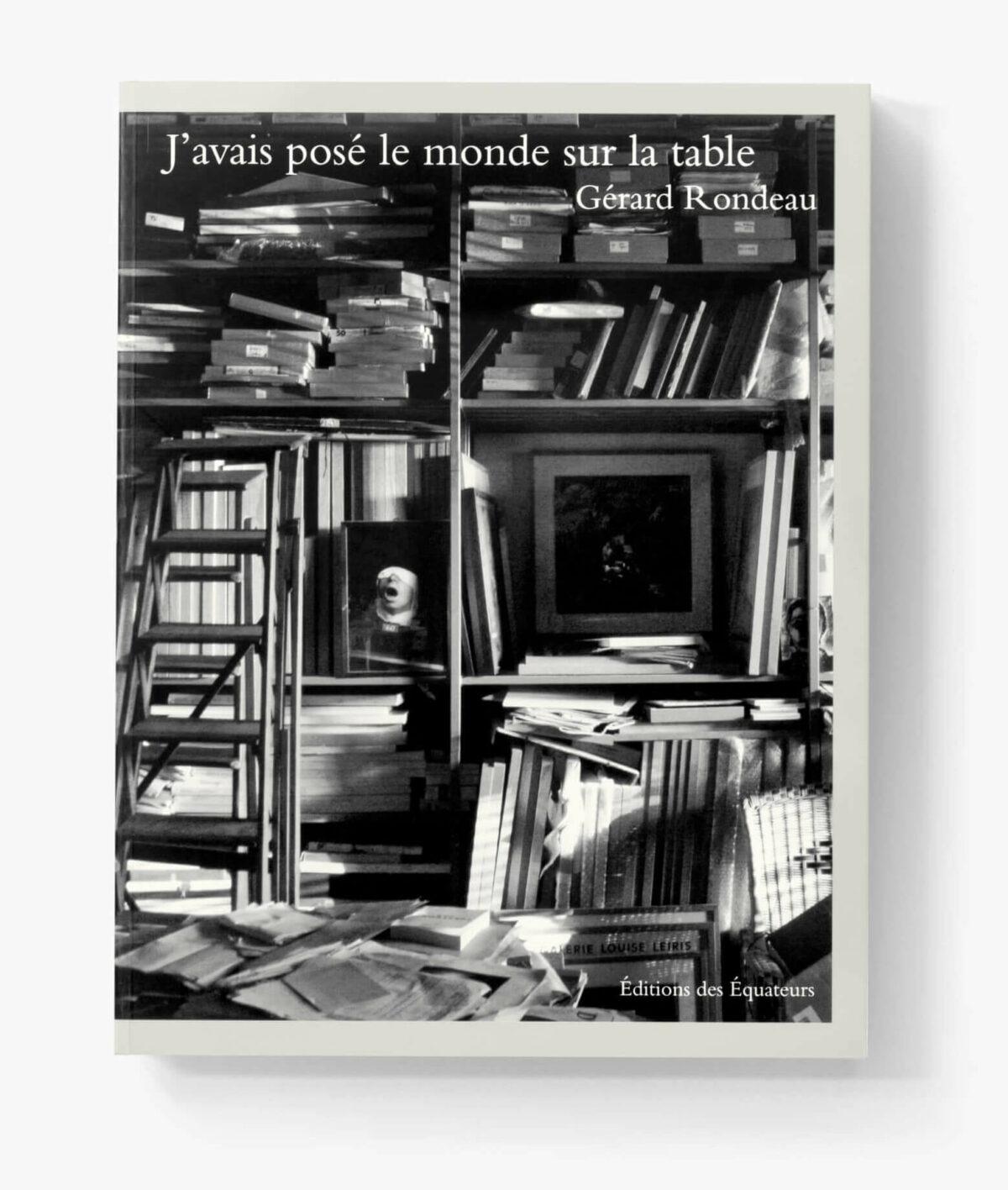 Couverture du livre J'avais posé le monde sur la table