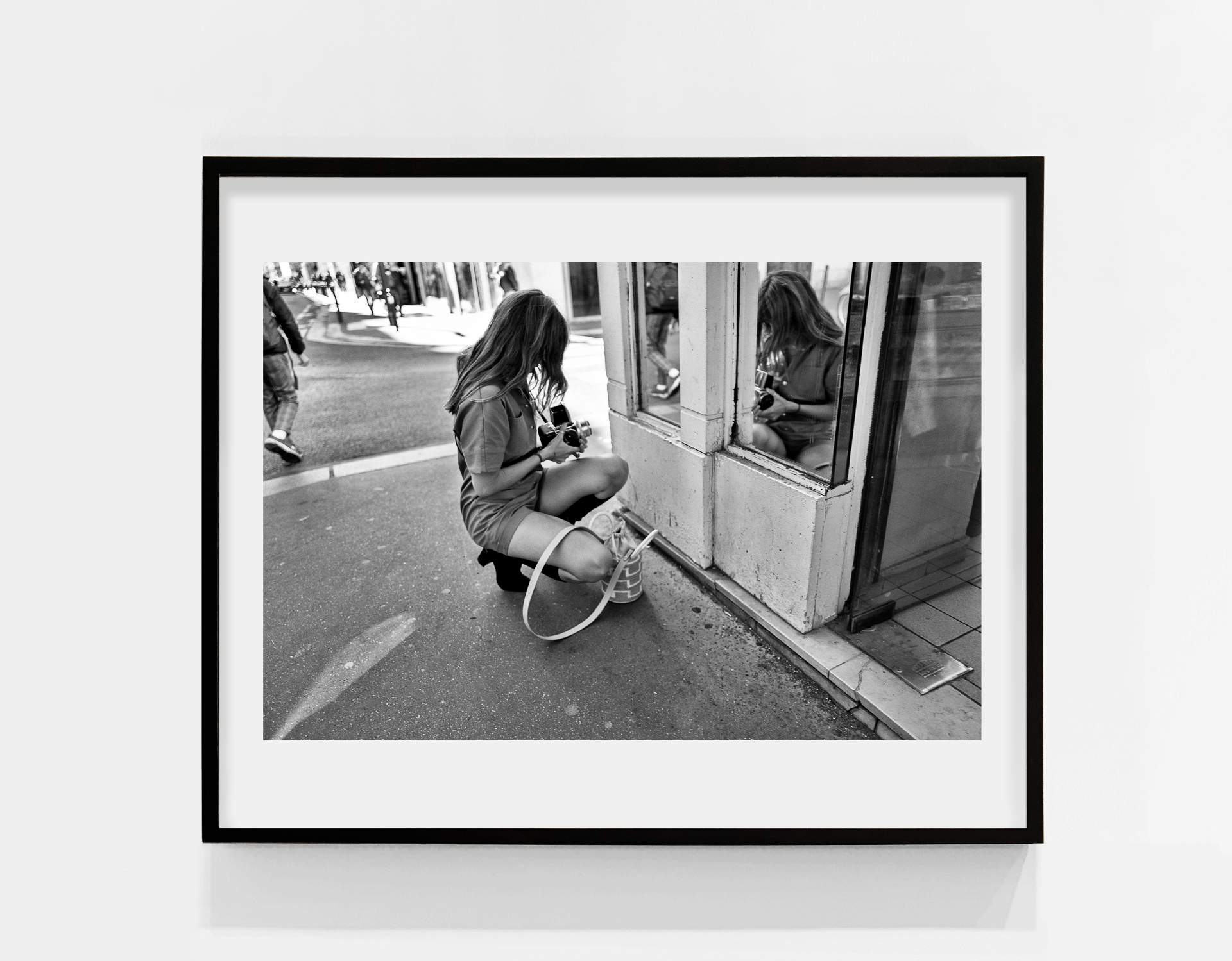 Tirage_Paris-Lady selfie_40x60