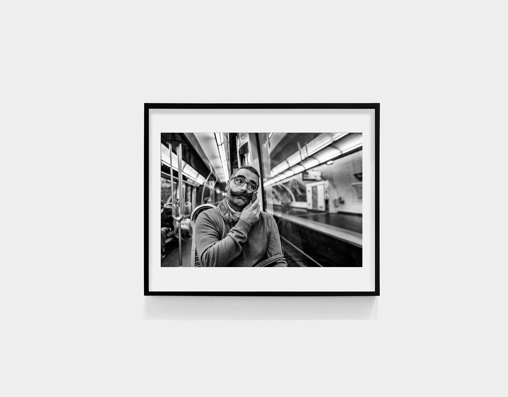 Tirage_Laurent_Delhourme_Metro_parisien